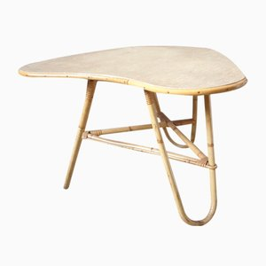 Rattan Free Form Table