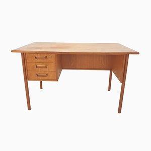 Dänischer Teak Schreibtisch von Gunnar Nielsen Tibergaard, 1960er