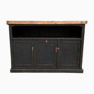 Patinated Workshop Cabinet