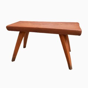 Small Elm Coffee Table, 1960s