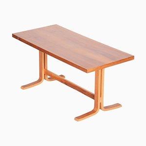 Mid-Century Modern Czech Rectangular Oak Table, 1960s
