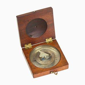 Solar Kompass Uhr, 19. Jh