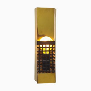 Mid-Century Brass Wall Lamp, 1970s