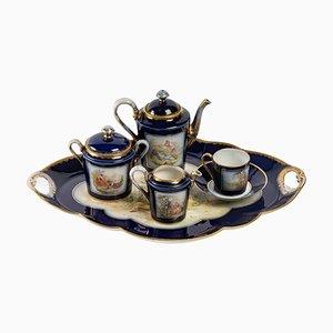 Porcelain Coffee Service, Set of 6