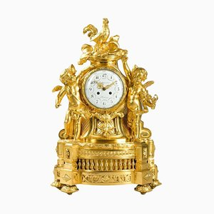 Gilt Bronze Clock