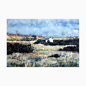 Andrew Francis, Puncheston Common, 2017, Landscape Ölgemälde