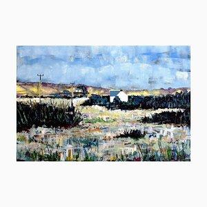 Andrew Francis, Puncheston Common, 2017, Peinture à l'Huile de Paysage