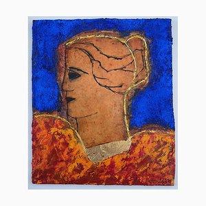 John Emanuel, Classical Head, 2021, Figuratives Ölgemälde