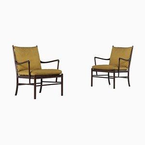 Mid-Century Modell PJ149 Sessel von Ole Wanchen für Poucher Soul, 2er Set