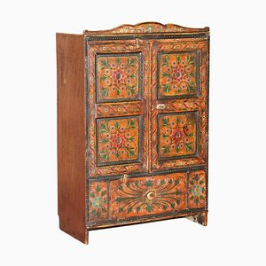 Hand Painted Cupboard, 1860s