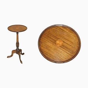 Hardwood Tripod Side Table