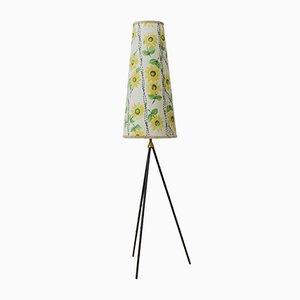 Vintage Dreibein Stehlampe