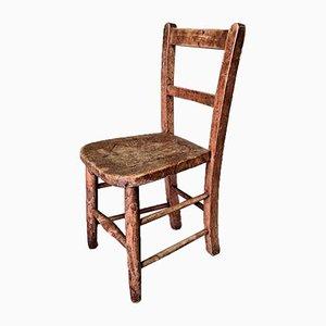 Elm Childrens Chair, Mid 20th Century