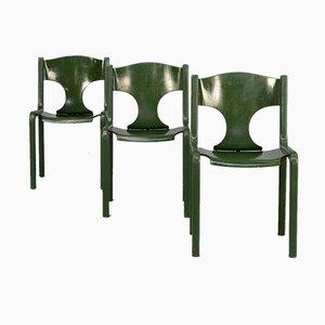 Chaises de Salle à Manger par Augusto Savini pour Wells, 1960s, Set de 3