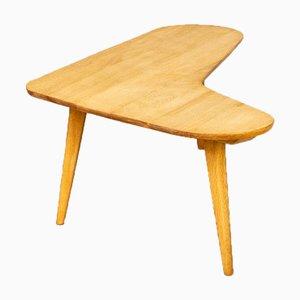 Oak Boomerang Coffee Table, 1950s