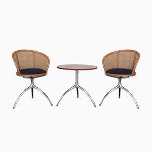 Alias Young Lady Stühle und Baum Tisch von Paolo Rizzatto, 3er Set