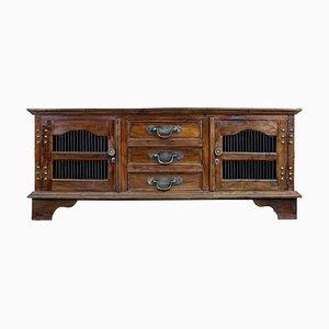 Indonesian Hardwood Decorative Sideboard