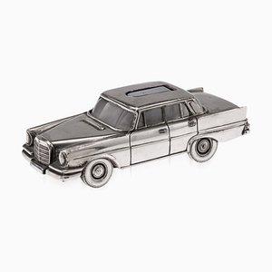 20th Century Mercedes Benz S-Class Table Lighter, 1970s