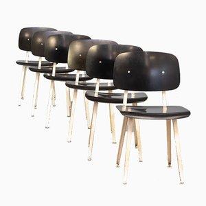 Revolt Chair by Friso Kramer for Ahrend De Cirkel, 1950s, Set of 6