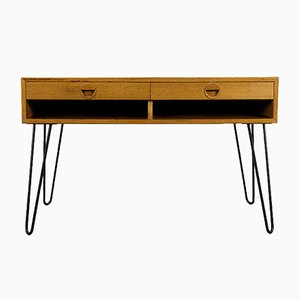 Danish Teak Sideboard with Two Drawers from Hansen and Guldborg, 1960s