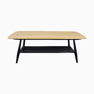 Black Leg Coffee Table by Lucian Ercolani for Ercol
