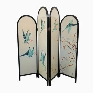 Hand Painted Room Divider