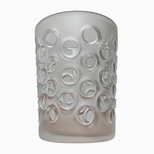 Vintage German Large Glass Vase from Peill & Putzler
