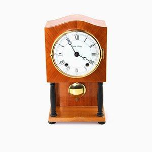 Table Pendulum Clock by Erwin Sattler, Munich, 1950s