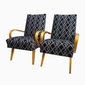 Stühle von Jaroslav Smidek für Interier Praha, 1960er, 2er Set