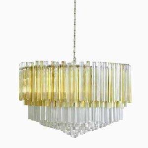 Large Trilobi Glass Chandelier