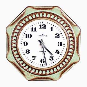 Orologio in ceramica di Junghans, anni '60
