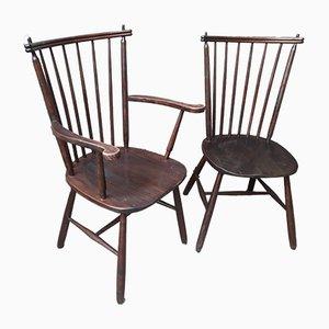 Chaises de Ercol, Set de 2