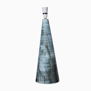 Große Tischlampe von John Beusmans für Carn Studio Pottery