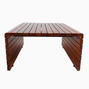 Birch Wood Coffee Table by Elemisen Iloksi for Vilka
