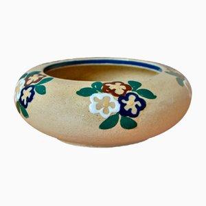 Art Deco Bowl by Jean Garillon for Elchinger et Cie