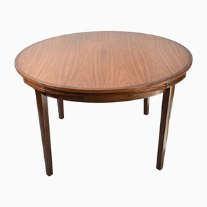 Ausziehbarer Flip Flap oder Lotus Tisch von Dyrlund, Dänemark, 1960er
