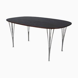 Table de Salle à Manger Ellipse par Piet Hein & Bruno Mathsson pour Fritz Hansen