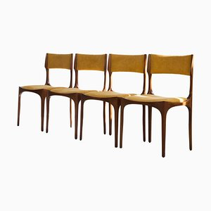 Elisabetta Chairs by Giuseppe Gibelli for Sormani, Italy, 1963, Set of 4