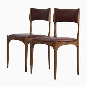 Elisabetta Stühle von Giuseppe Gibelli für Sormani, Italy, 1963, 2er Set