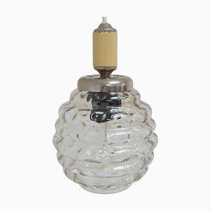 Mid-Century Glass Pendant, 1960s