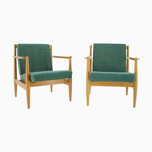 Armchairs from TON, Czechoslovakia, 1960s, Set of 2