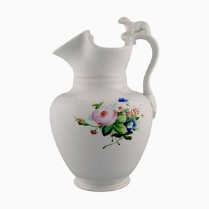 Antique Chocolate Jug in Porcelain Modelled with a Lion from Bing & Grøndahl