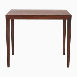 Palisander Wooden Table by Severin Hansen for Haslev