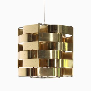 Brass Mars Hanging Lamp from Max Sauze Studio
