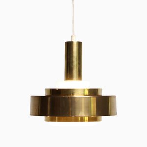 Glass Danish Hanging Lamp