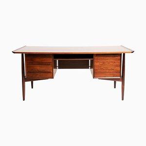 Mid-Century Schreibtisch aus Palisander von HP Hansen, 1960er