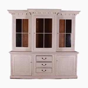 Glazed Breakfront Kitchen Cabinet