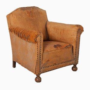 Sheepskin Club Chair