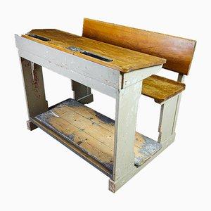 Brocante High School Desk, 1920s