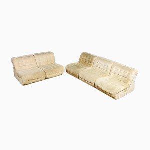 Vintage Modular Sofa in Beige, 1970s